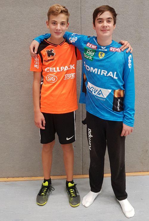 Tim Hecker und Leon Hufnagel
