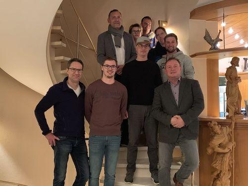 Der neue Vorstand des TV Gottmadingen